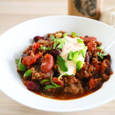 Classic Chili with a Spicy Twist