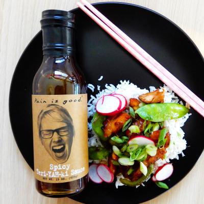 Spicy Teri-YAH-Ki (Teriyaki) Chicken