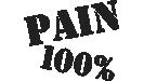 pain 100%